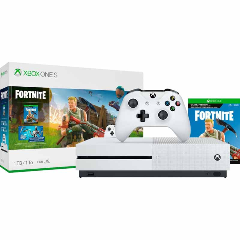 *DEAD* 1TB Microsoft Xbox One S Fortnite Console Bundle - $179.99 + Free Shipping @ Fry's