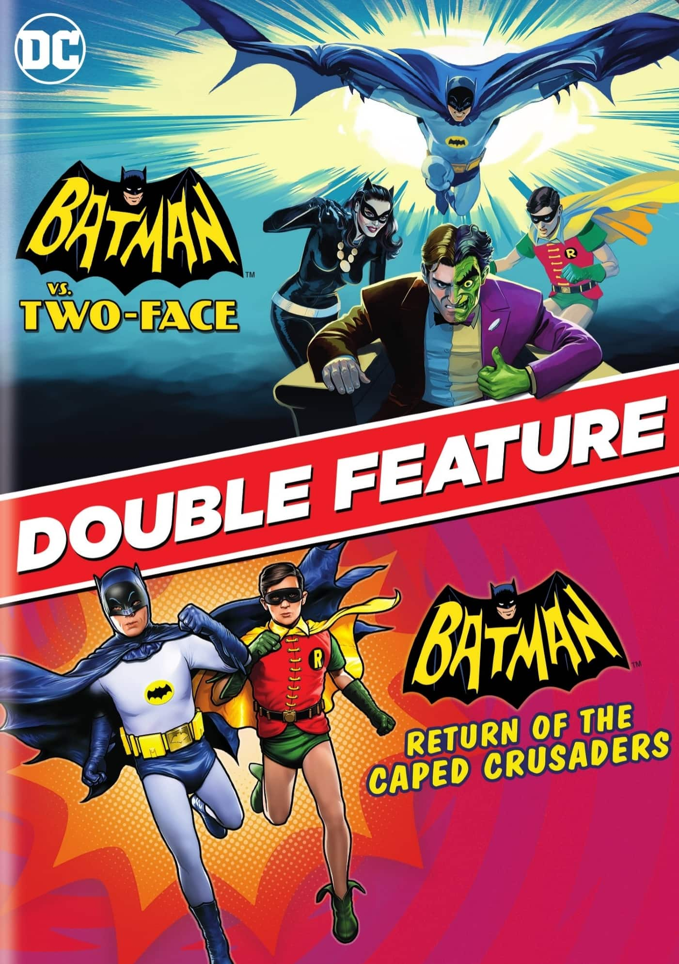 Batman: Return of the Caped Crusaders + Batman vs. Two-Face 2-Movie Collection (Digital HD) $9.99 @ iTunes [Movies Anywhere]