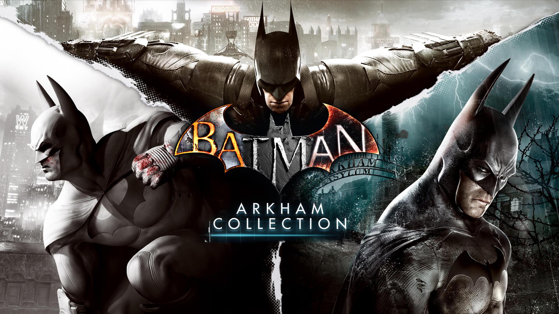 EPIC Games Store: Batman Arkham Collection & LEGO Batman Trilogy (PC Digital) Free