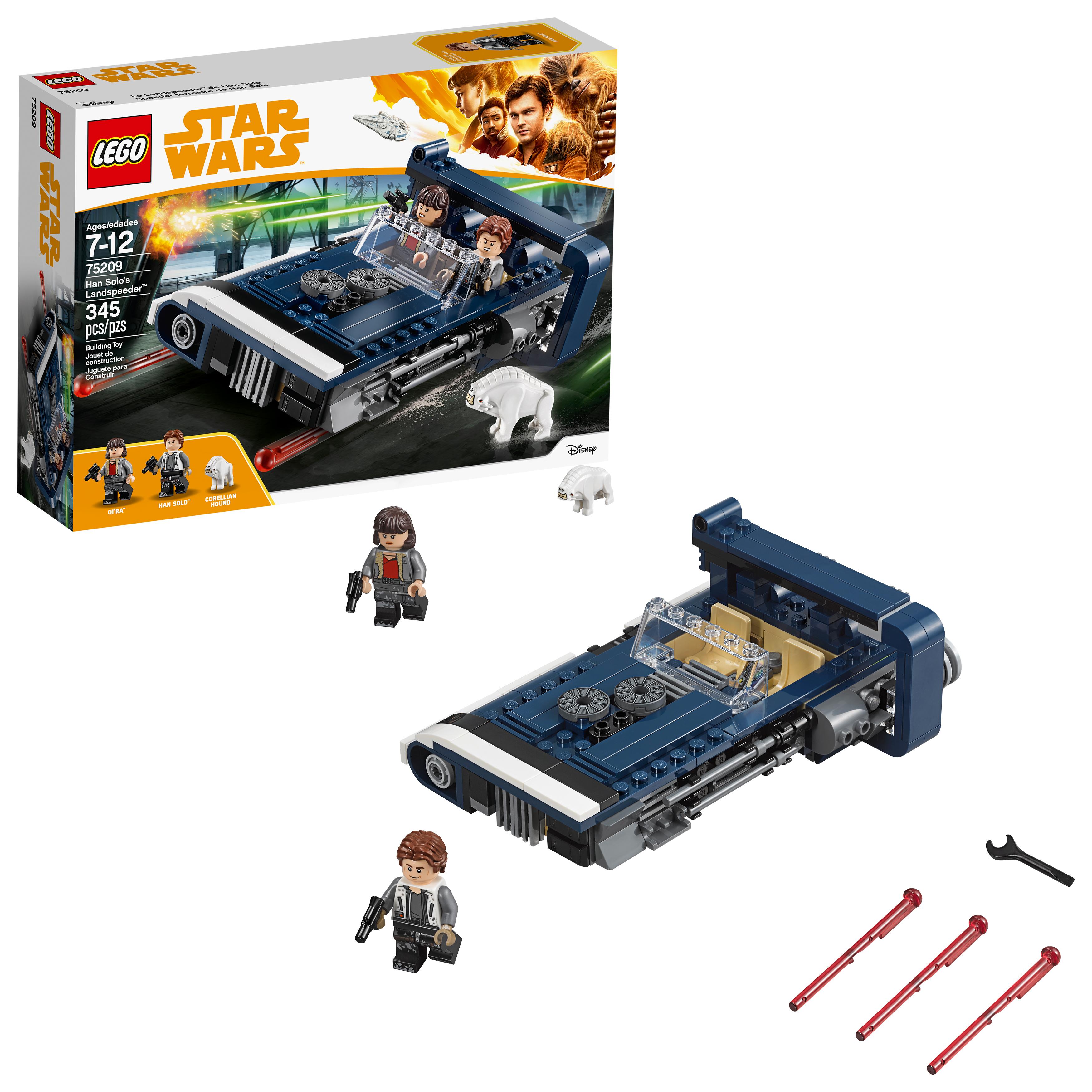 LEGO Star Wars Solo: A Star Wars Story Han Solo's Landspeeder (75209) 345 Pieces - $15.13 @ Amazon