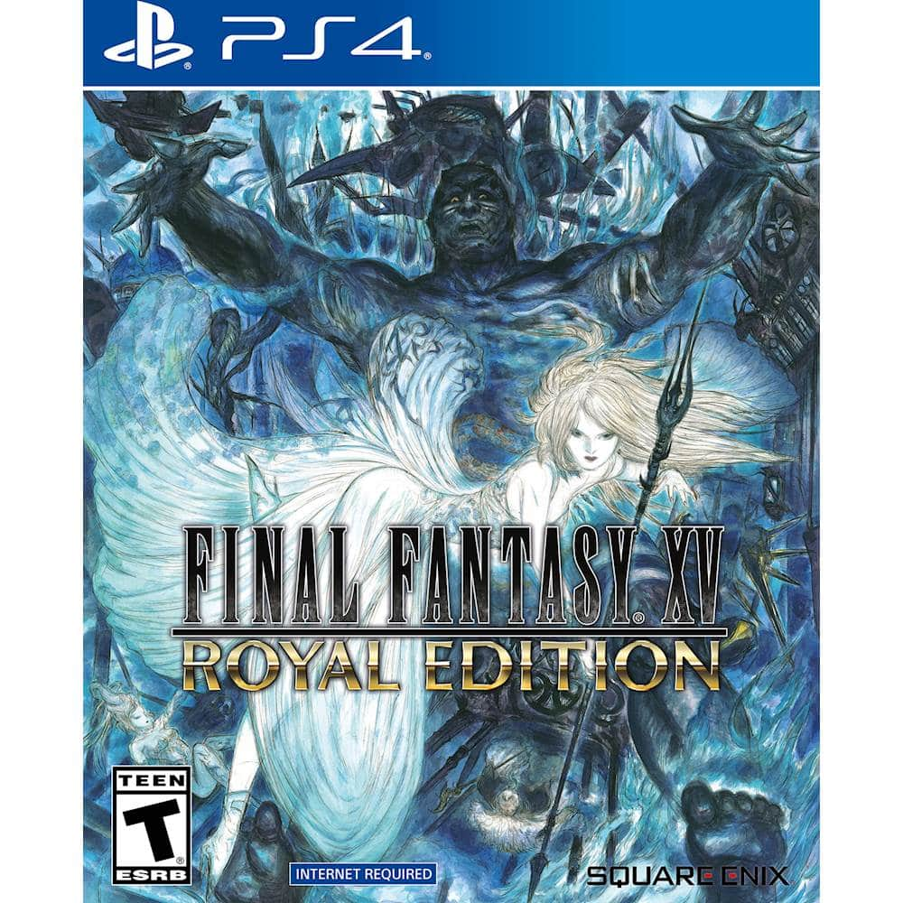 Final Fantasy XV: Royal Edition (PS4) - $14.99 (or $11.99 w/ GCU) + Free Shipping @ Best Buy