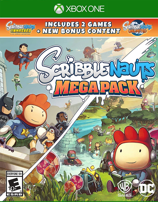 Scribblenauts Mega Pack (Xbox One) - $13 - Scribblenauts Unmasked + Scribblenauts Unlimited - Amazon