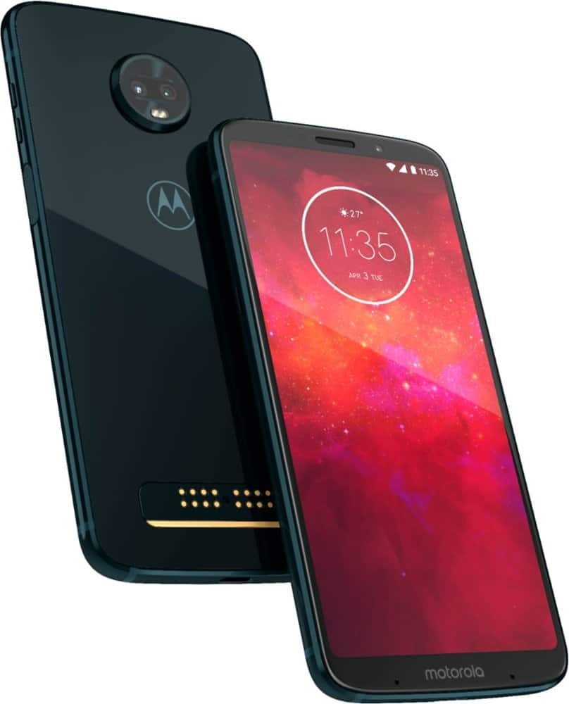 Sprint: 32GB Moto Z3 Play Unlocked Smartphone + 1-Mo. Sprint Kickstart Plan - $114.99 (New Customers) or $79.99 (Add a Line - Existing Customers) w/ Sprint Activation @ Best Buy