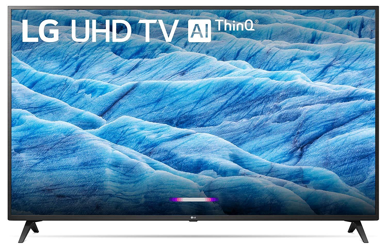 "65"" LG 65UM7300PUA 4K HDR Smart TV + $50 Dell Promo eGift Card: $499 after $50 Slickdeals Rebate + Free Shipping"
