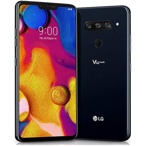 64GB LG V40 ThinQ Unlocked Smartphone (Black) $369 + Free Shipping @ eBay