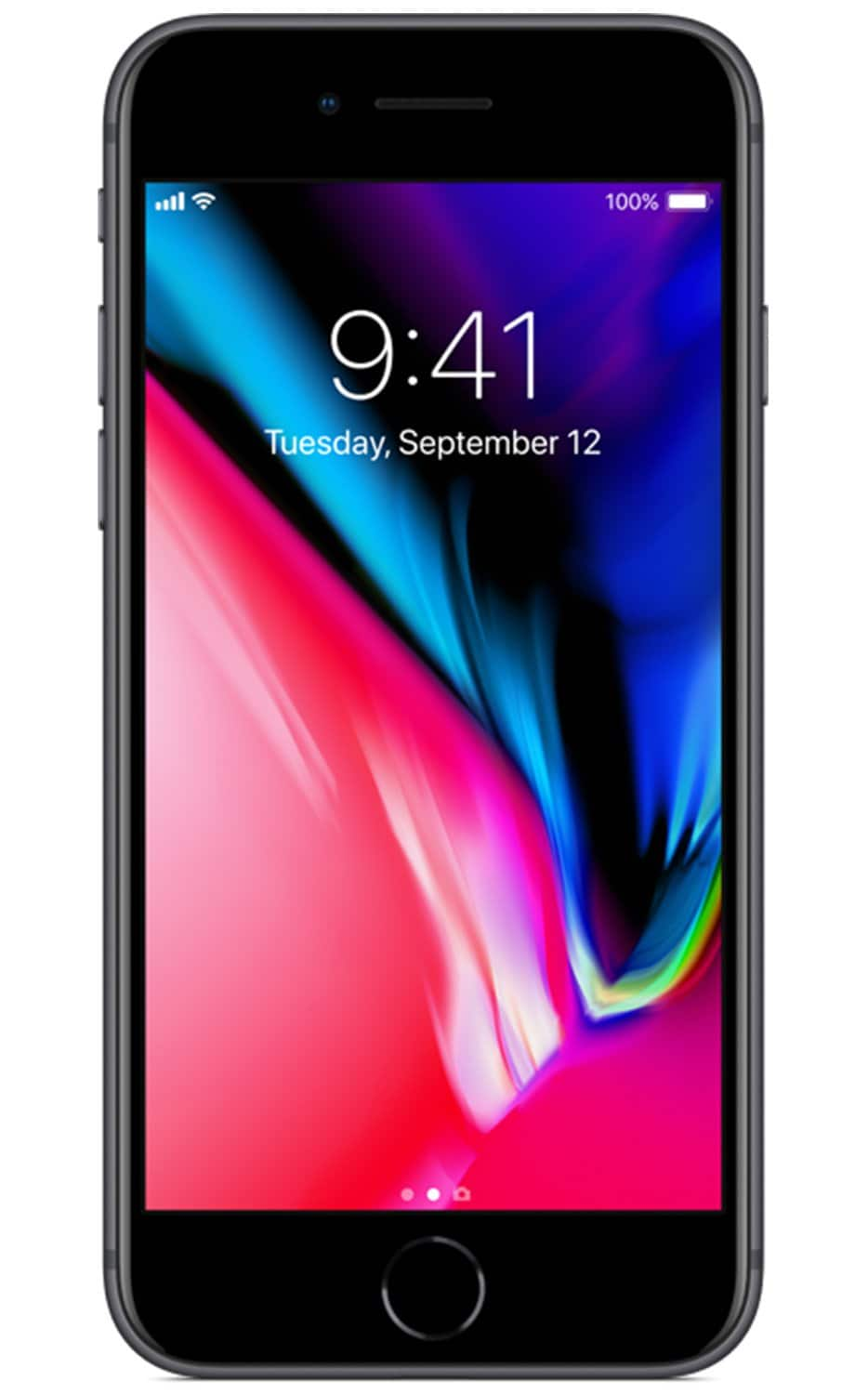 Red Pocket Mobile: Apple iPhone 8 starting at $349 (after $100 off coupon) + Free 360-Day 1K Mins Talk / Unlimited Texts / 1GB Data GSMA Plan w/ Purchase