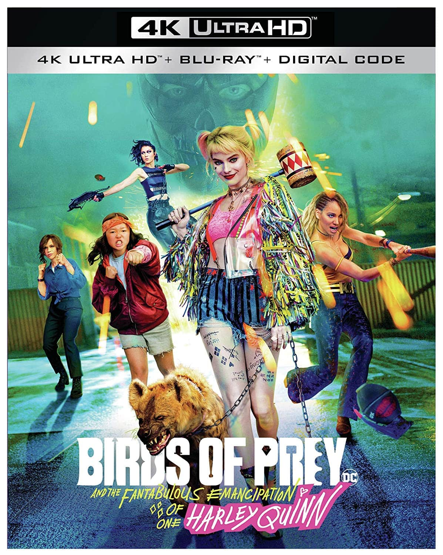 Birds of Prey (4K Ultra HD + Blu-ray + Digital) $15.33 + Free Shipping w/ Prime or $25+ Orders @ Amazon