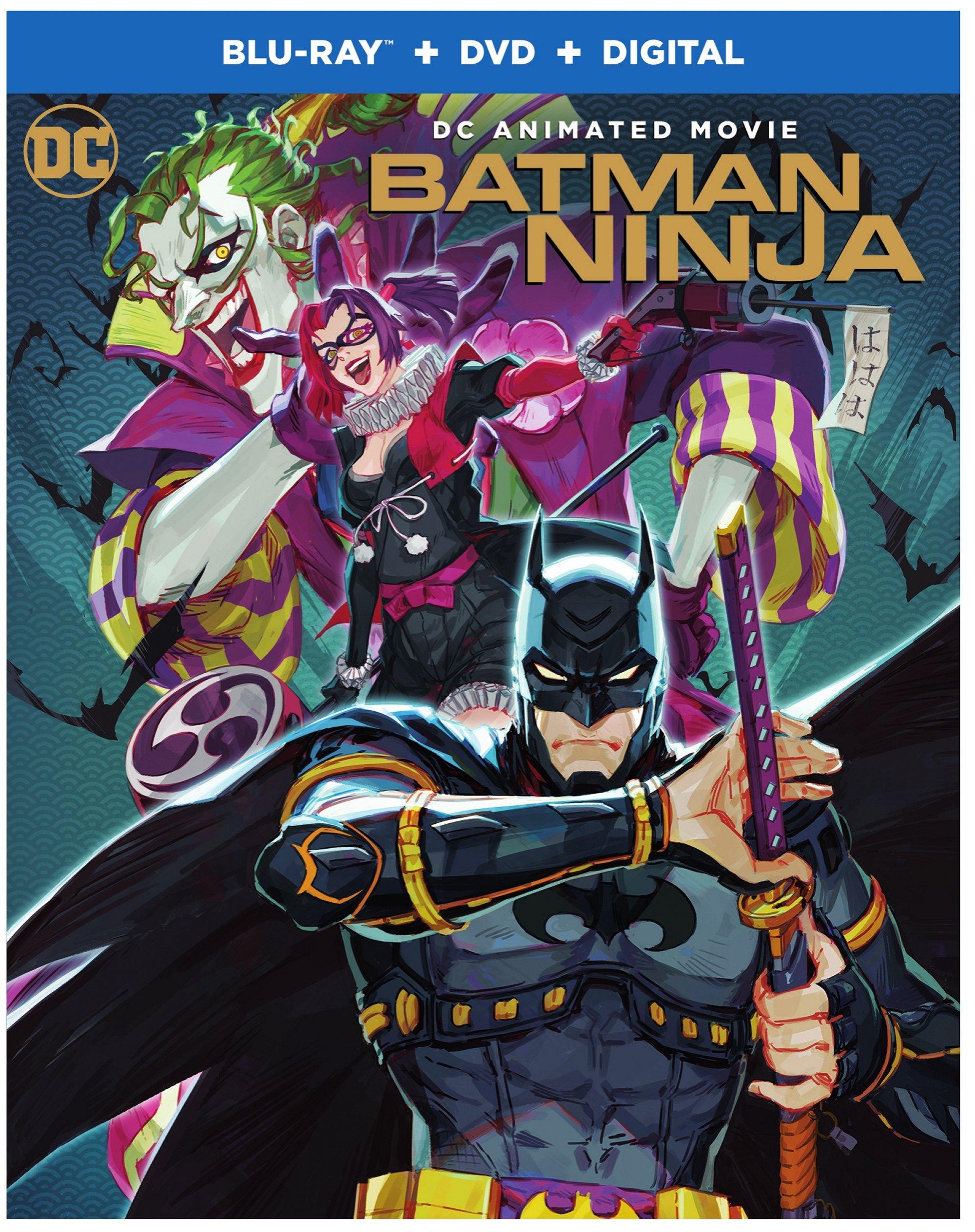 Batman Ninja (Blu-ray + DVD + Digital) - $6.96 + FS on $35+ @ Walmart