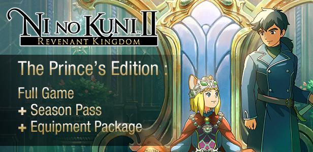 Ni no Kuni II: Revenant Kingdom - The Prince's Edition (PC Digital) $11.99 @ Indie Gala