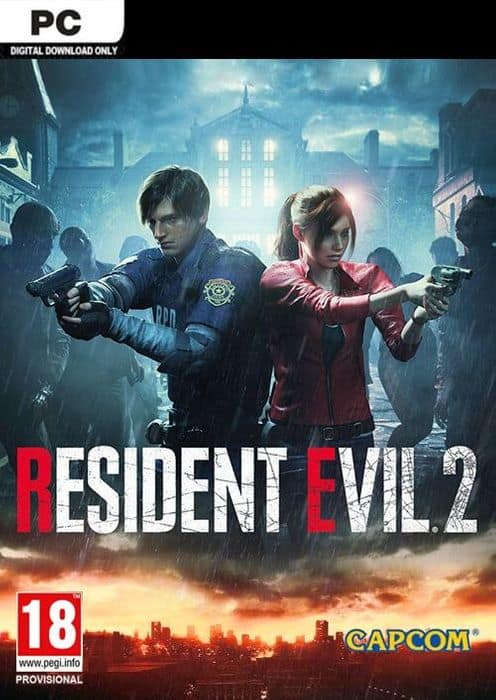 Resident Evil 2 (PC Digital) Standard $11.39 or Deluxe Edition $14.99 @ CDKeys / GamesPlanet
