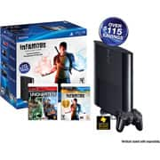 Back in Stock: $199 Walmart Playstation 3 250GB w/ Infamous Collection and Uncharted Dual Pack