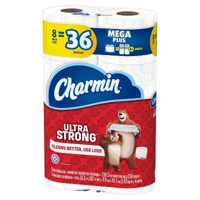 24-Ct Charmin Mega Plus Toilet Paper + $10 Target Gift Card $30 + Free Store Pickup