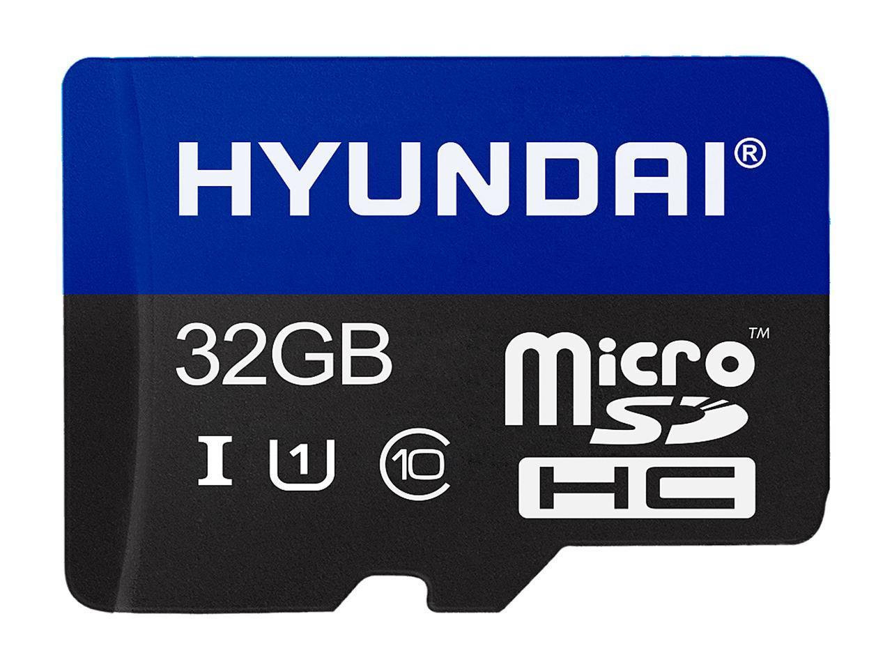 HYUNDAI 32GB Premier UHS-I microSD card (read/write: 90/30 MB/s) $4.99 + FS