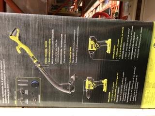Home Depot YMMV - Ryobi 18v edger, drill, impact driver, 2 battery, charger bundle - 75.99