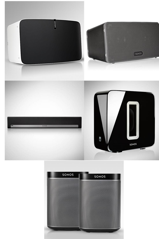 Sonos PLAY:5 $399, PLAY:3 $239, PLAYBAR $559, SUB $559 - Verizon Smart Rewards