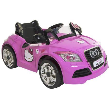 Dynacraft Hello Kitty 6V Sports Car Battery-Powered Ride-On $59 ymmv @Walmart