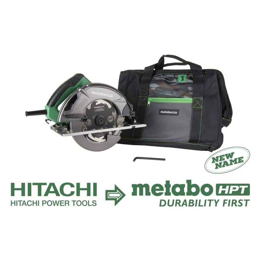 Metabo HPT (was Hitachi Power Tools) 7-1/4-in Corded Circular Saw ...