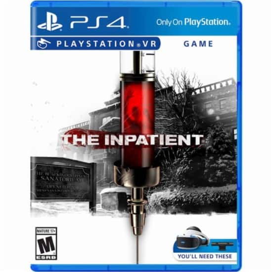 The Inpatient PS4 VR game $19.99