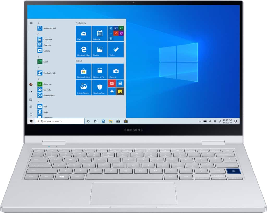 """Samsung Galaxy Book Flex Alpha 2-in-1 13.3"""" QLED Touch-Screen Laptop Intel Core i7 12GB Memory 512GB SSD - $799 with My Best Buy Early Access"""
