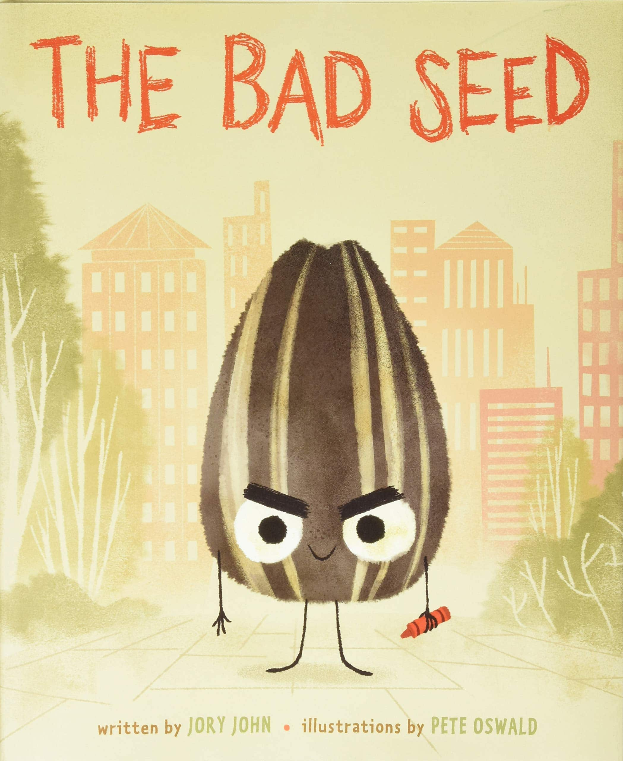 The Bad Seed Hardcover Childrens Book - Free Shipping w/ Prime $6.81