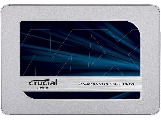 "Crucial MX500 2.5"" 500GB SATA III 3D NAND Internal Solid State Drive $86.99"