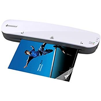"""Marigold 9"""" Thermal Laminator,Fast Warm-up (LM401) $13.52 w/ 20% coupon @ Amazon Free Prime Shipping"""