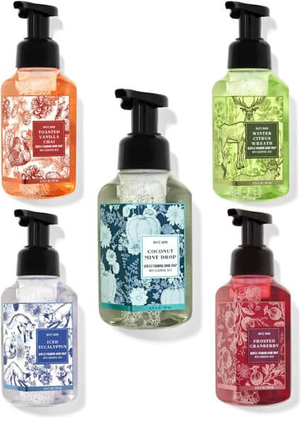 All Bath and Bodyworks Hand Soaps $3.95