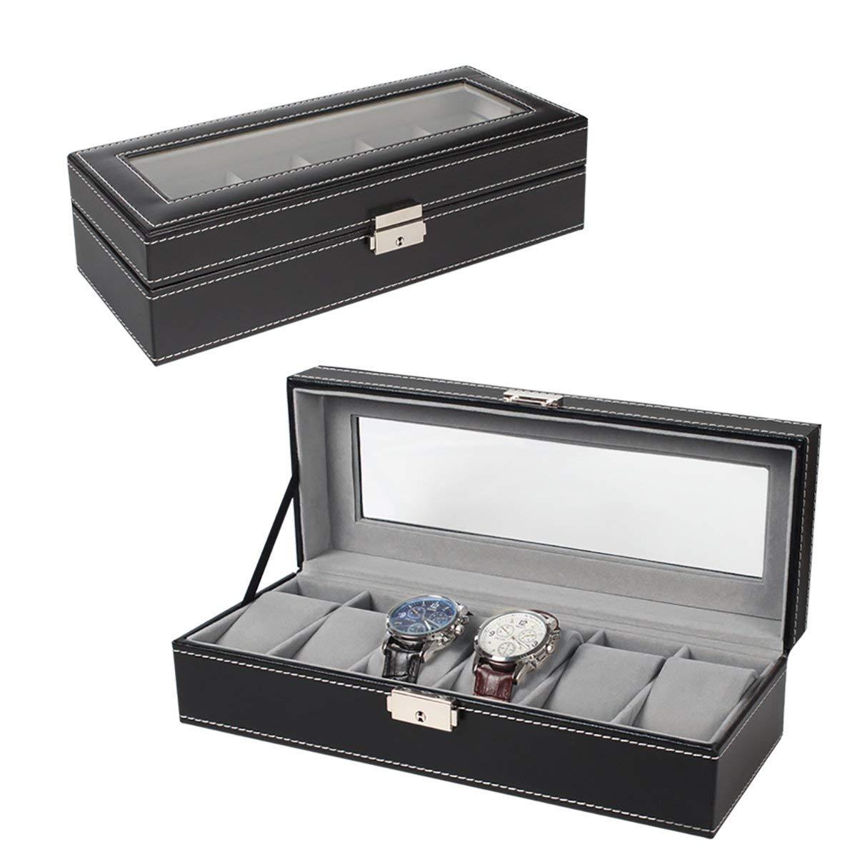 NEX 6 slot leather watch box $9.44