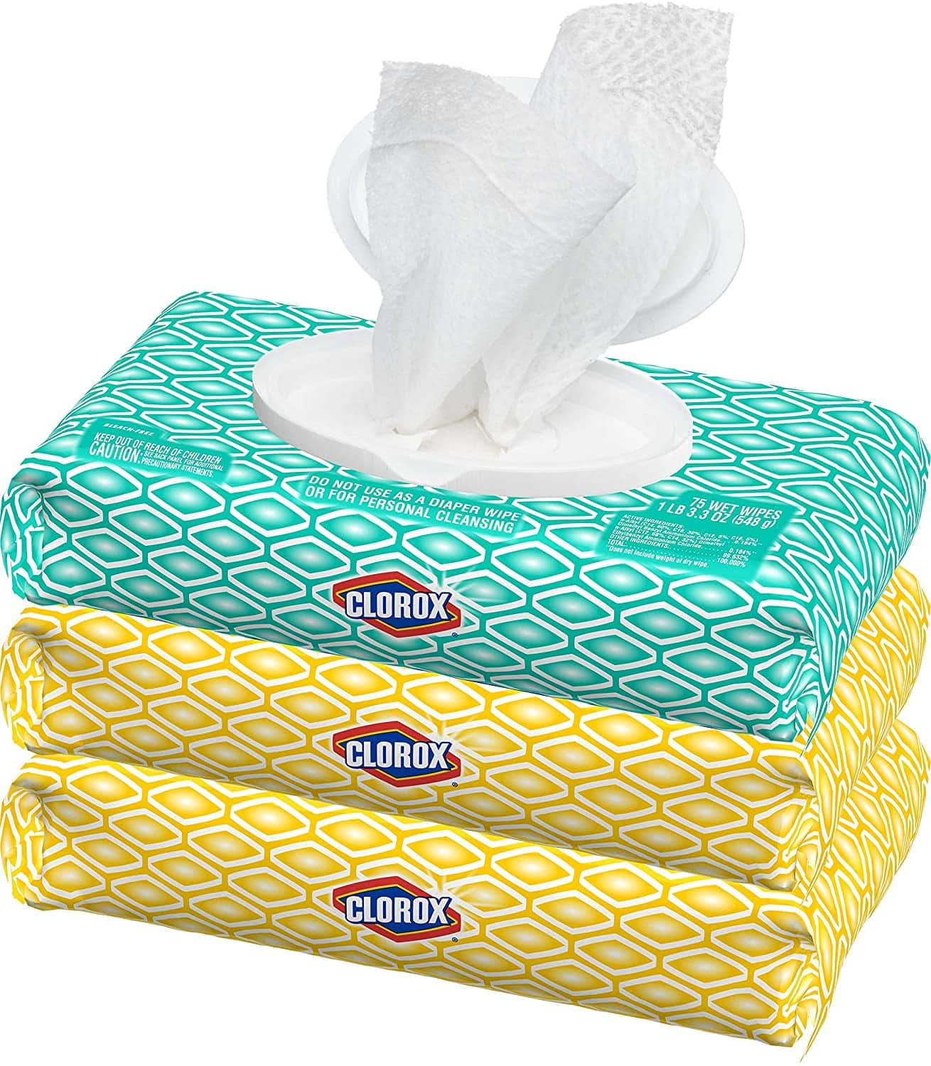 Clorox Disinfecting Wipes 3 Pack IN STOCK NOV 12 $11.97