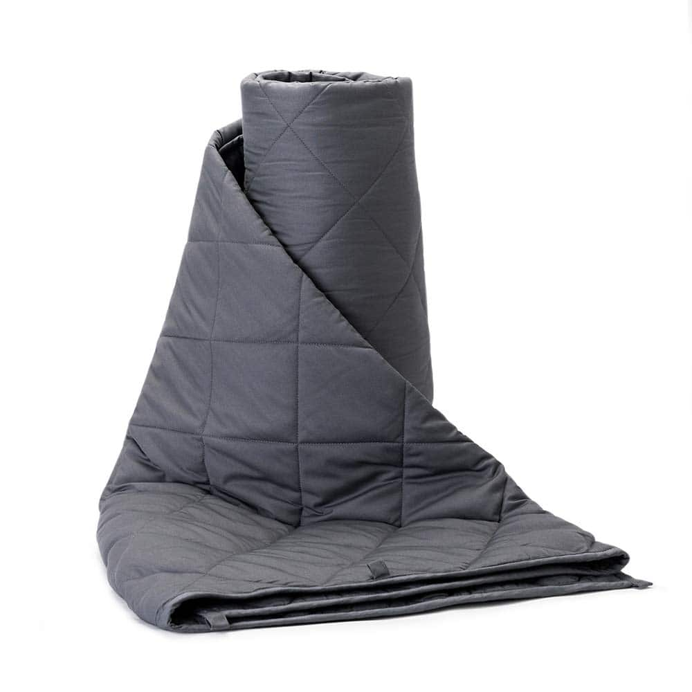 BUZIO Weighted Blanket 15 lbs for Adults (140-170 lbs) $23.99