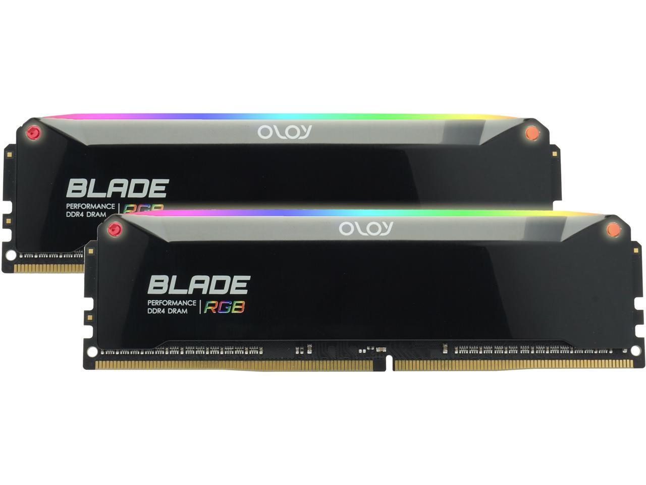16GB (2 x 8GB), CL 16, OLOy Blade RGB, DDR4 3200 Desktop Memory, $77.99 AC
