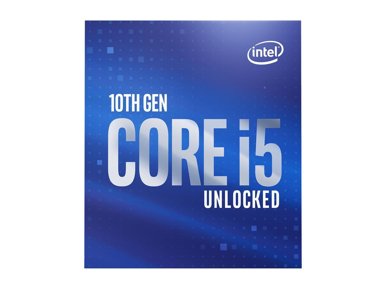 Intel Core i5-10600K, 6-Core, 4.1 GHz, Intel UHD Graphics 630 & Gaming Bundle $178.99