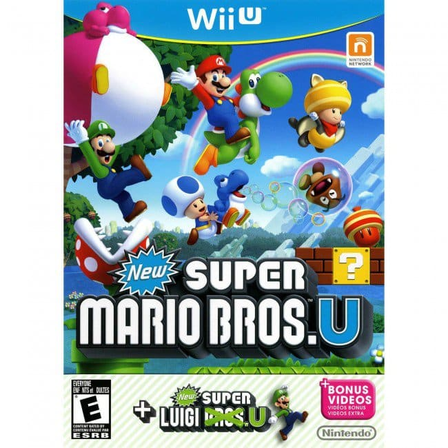 EU Only (Sorry) - Wii U - New Super Mario Bros + New Super Luigi Wii U - CDKeys - $ 17.69