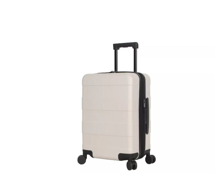 """Hardside Carry On Spinner Suitcase 20"""" Tan - Made By Design™ $7.99"""