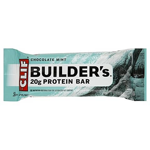 Clif Builder's 2.4 oz. Chocolate Mint Protein Bar $0.68