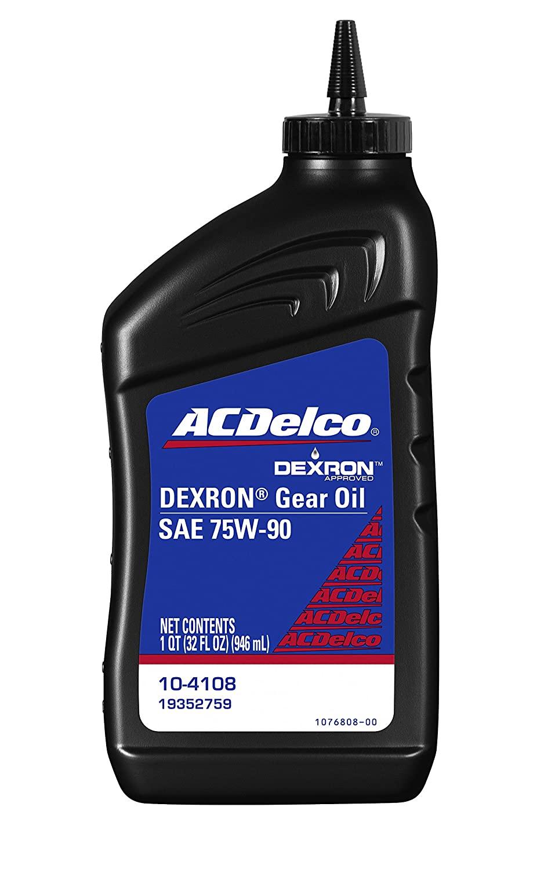 ACDelco Dexron 75w90 Quart 12 Pack $24.2