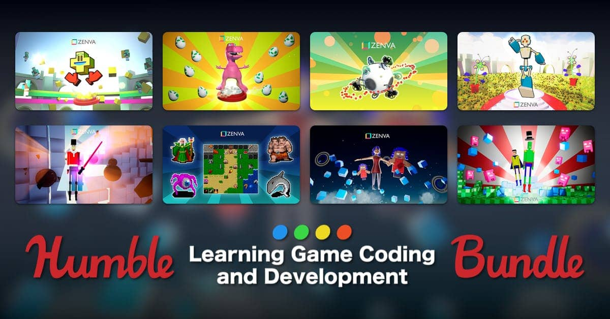 Humble Bundle: Learning Game Coding And Development Bundle $1