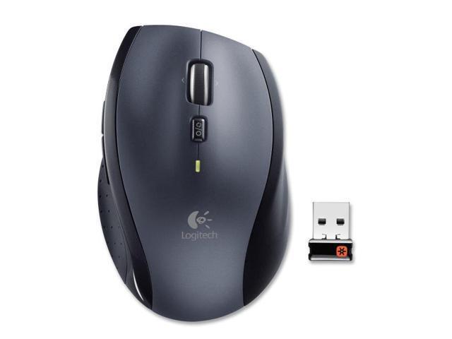 Logitech M705 Black 1 x Wheel USB RF Wireless Laser Marathon Mouse $17.99