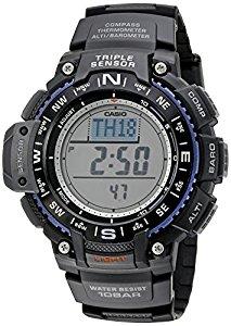 amazon Casio Men's SGW-1000-1ACR Triple Sensor Digital Display Quartz Black Watch@49.97 lowest ever