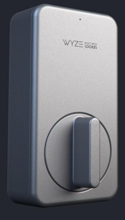Wyze Lock with Free Keypad - $94.99 with Free Shipping $95