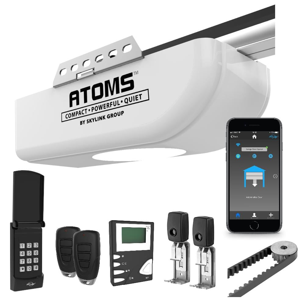 Save 26% 3/4 HPF Belt Drive Garage Door Opener with Extremely Quiet DC Motor and WiFi Connectivity $154.97