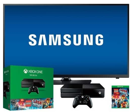 "Best Buy Xbox One / 40"" TV Bundle is back - $499 - In Store Only"