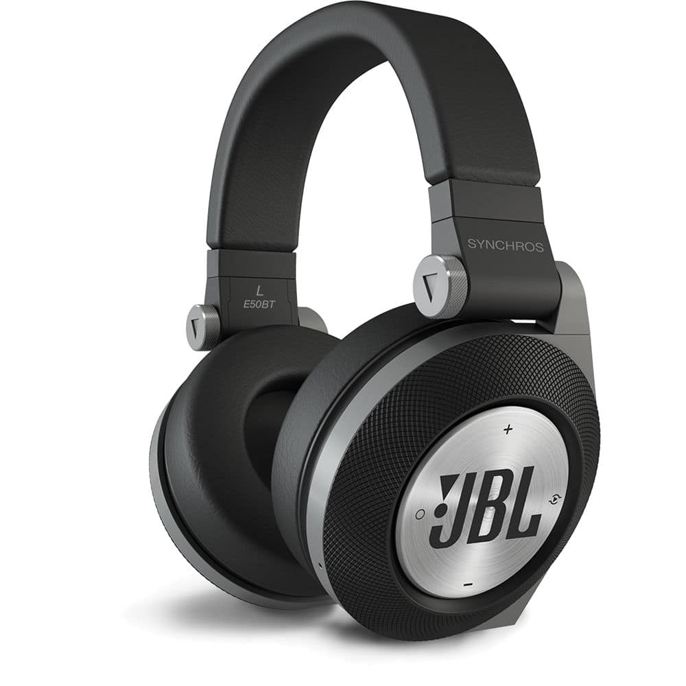 JBL Synchros E50BT Over-Ear Bluetooth Wireless Stereo Headphones, Black E50BTBLK $69.99
