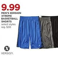 b958553fb4ca4 JCPenney Black Friday: Xersion Men's Xtreme Basketball Shorts, Select  Styles for $9.99