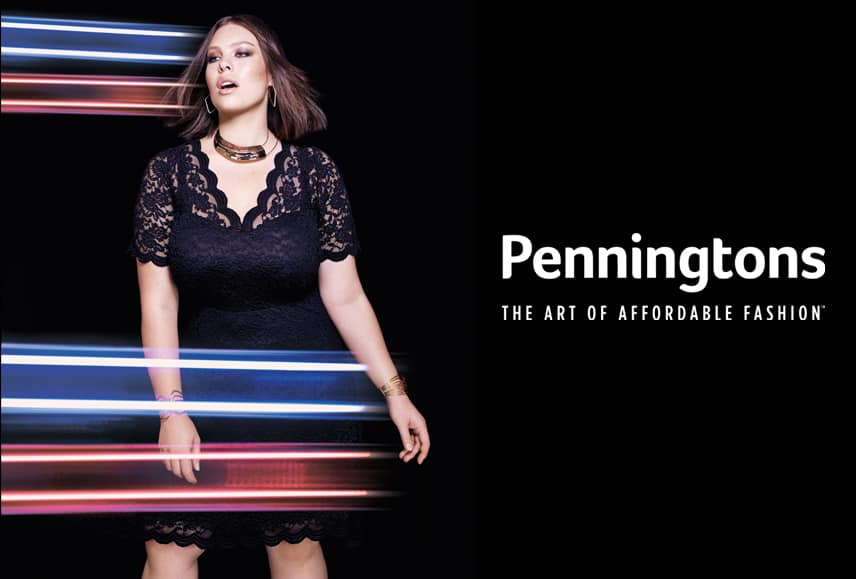 Up to 50% off Penningtons Women's Plus Size Clothing on Amazon - starting at $1.99 + FS with Prime or with $49 (pre-discount) purchase