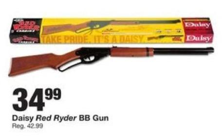 Fred Meyer Black Friday: Daisy Red Rider BB Gun for $34.99
