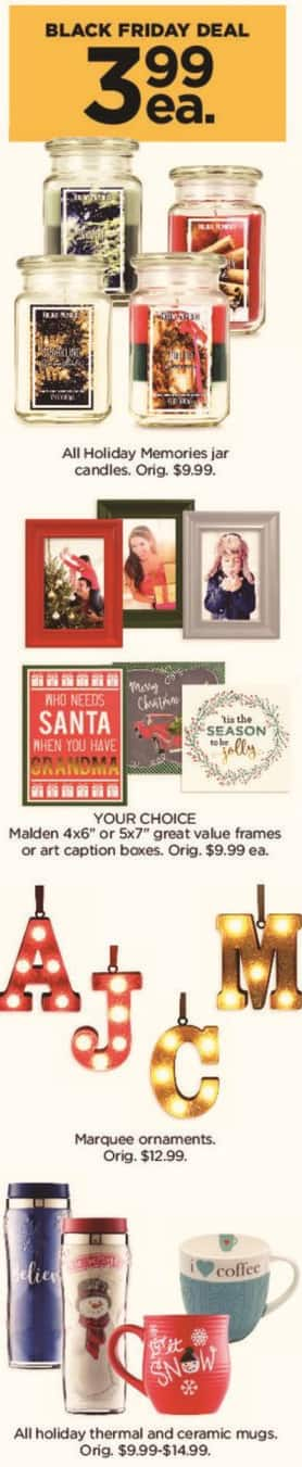 "Kohl's Black Friday: Malden 4x6"" or 5x7"" Great Value Frames or Art Caption Boxes - Your Choice for $3.99"