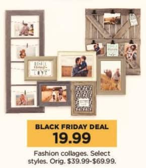 Kohl's Black Friday: Select Fashion Collages for $19.99