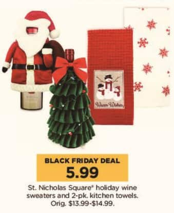 Kohl S Black Friday St Nicholas Square Holiday Wine Sweaters And 2