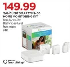 JCPenney Black Friday: Samsung SmartThings Home Monitoring Kit for $149.99
